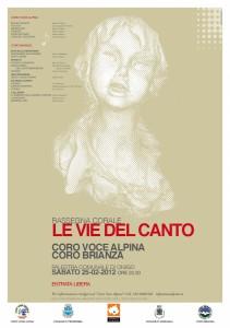 Le Vie Del Canto 2012