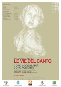 Le Vie Del Canto 2013